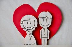 Свадьба отрезка лазера Стоковые Фотографии RF