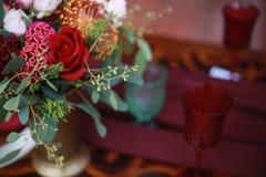 Свадьба цветет оформление Стоковые Изображения