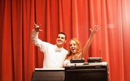 Свадьба DJ стоковые фото