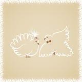 Свадьба doves2 Стоковое Изображение