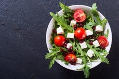 свежая весна салата стоковая фотография rf