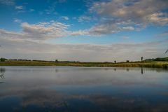 Свежая вода в степи Стоковые Фото
