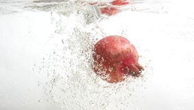 свежая вода pomegranate стоковое изображение rf