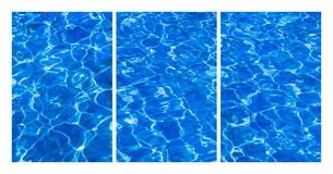 Свежая вода коллажа Стоковая Фотография