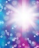 Свежая голубая пурпуровая абстрактная предпосылка