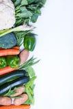 Свежая группа в составе овощи Стоковые Изображения RF
