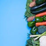 Свежая группа в составе овощи Стоковое Изображение RF