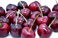 Свежая группа плодоовощ красного цвета вишни Стоковое Фото