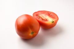 Свежая группа томата отрезка Стоковая Фотография