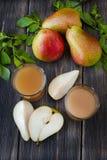 свежая груша сока Стоковое Изображение