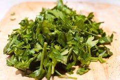 свежая зеленая петрушка стоковое фото rf