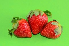 свежая зрелая клубника Стоковая Фотография RF