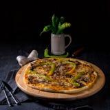 Свежая и вкусная пицца Peperoni Стоковое Фото