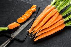 Свежая и сладостная морковь Стоковые Фотографии RF