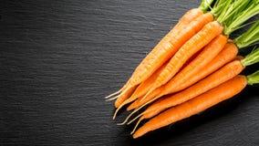 Свежая и сладостная морковь Стоковые Изображения