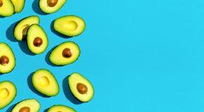Свежая картина авокадоа стоковое изображение rf