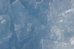 Свежая картина льда Стоковые Фотографии RF