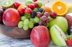Свежая красочная предпосылка плодоовощей Здоровая еда, dieting concep стоковое фото