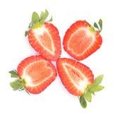свежая клубника Стоковое Изображение