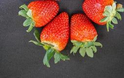 свежая клубника Стоковое Фото
