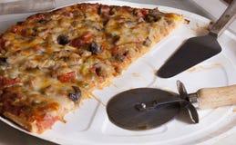 свежая пицца Стоковое Фото