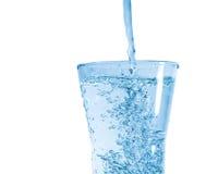свежая стеклянная вода Стоковое Изображение