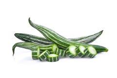 Свежая тыква змейки изолированная на белизне Стоковые Изображения