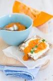 свежая тыква marmalade Стоковые Фотографии RF