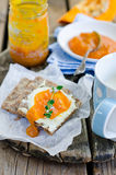 свежая тыква marmalade Стоковое фото RF