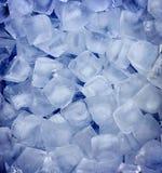 Свежая холодная предпосылка кубика льда Стоковое Изображение RF