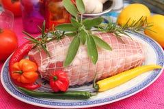 Свежее жаркое свинины Стоковые Изображения RF