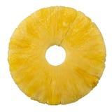 свежее изолированное кольцо ананаса Стоковые Фотографии RF