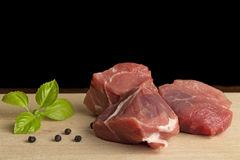 Свежее мясо свинины Стоковая Фотография RF