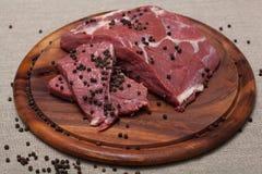 свежее мясо сырцовое Стоковая Фотография RF