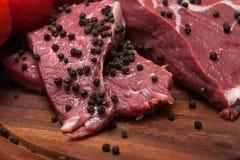 свежее мясо сырцовое Стоковое Изображение RF