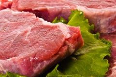 свежее мясо Стоковое Фото