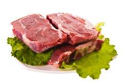 свежее мясо Стоковые Изображения