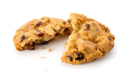 Свежее домодельное печенье Стоковое Фото