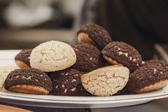 Свежее печенье choux стоковая фотография rf