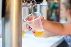 Свежее хорошее пиво, хорошее для того чтобы выпить! Стоковое Изображение