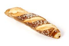 Свежее Laugenstangerl - немецкое, австрийский хлеб крена Стоковая Фотография RF