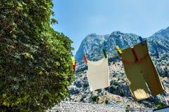 Свежее linen он-лайн в mounteins Стоковая Фотография RF