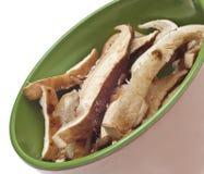 свежее shitake грибов Стоковые Изображения RF