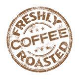 Свеже зажаренная в духовке избитая фраза кофе бесплатная иллюстрация