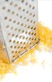 свеже заскрежетанный сыр Стоковое Изображение RF