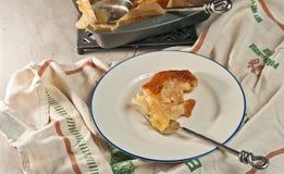 Свеже испеченное, домодельное печенье пряжки яблока Стоковая Фотография RF