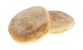 Свеже испеченные английские булочки Стоковое фото RF