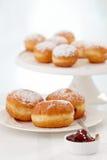Свеже испеченные donuts Стоковое Фото