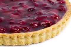 Свеже испеченный пирог вишни Стоковые Изображения