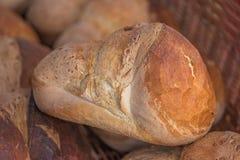 Свеже испеченный хлебец домодельного хлеба стоковые изображения